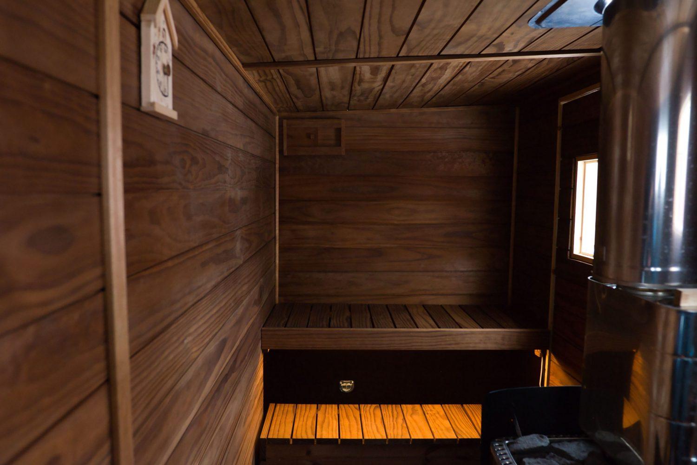 Valaistus, sauna